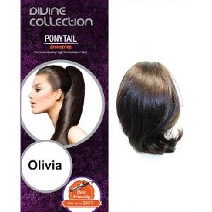 "Olivia - Drawstring Ponytail 9"""